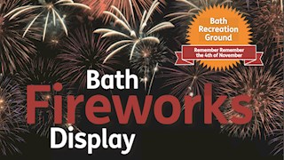 Bath Fireworks Display 2017
