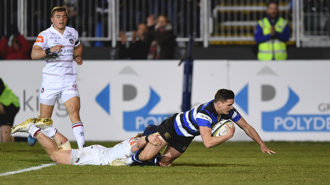 Bath Rugby clinch last minute victory against Leicester Tigers