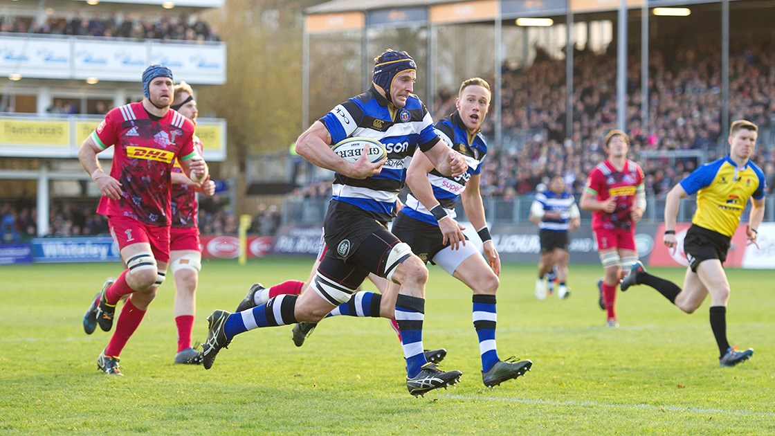 Bonus-point victory takes Bath Rugby back into top four