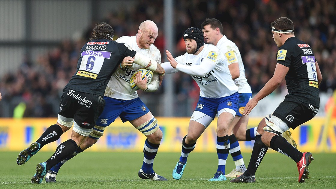 Bath Rugby rescue try bonus point from Sandy Park encounter