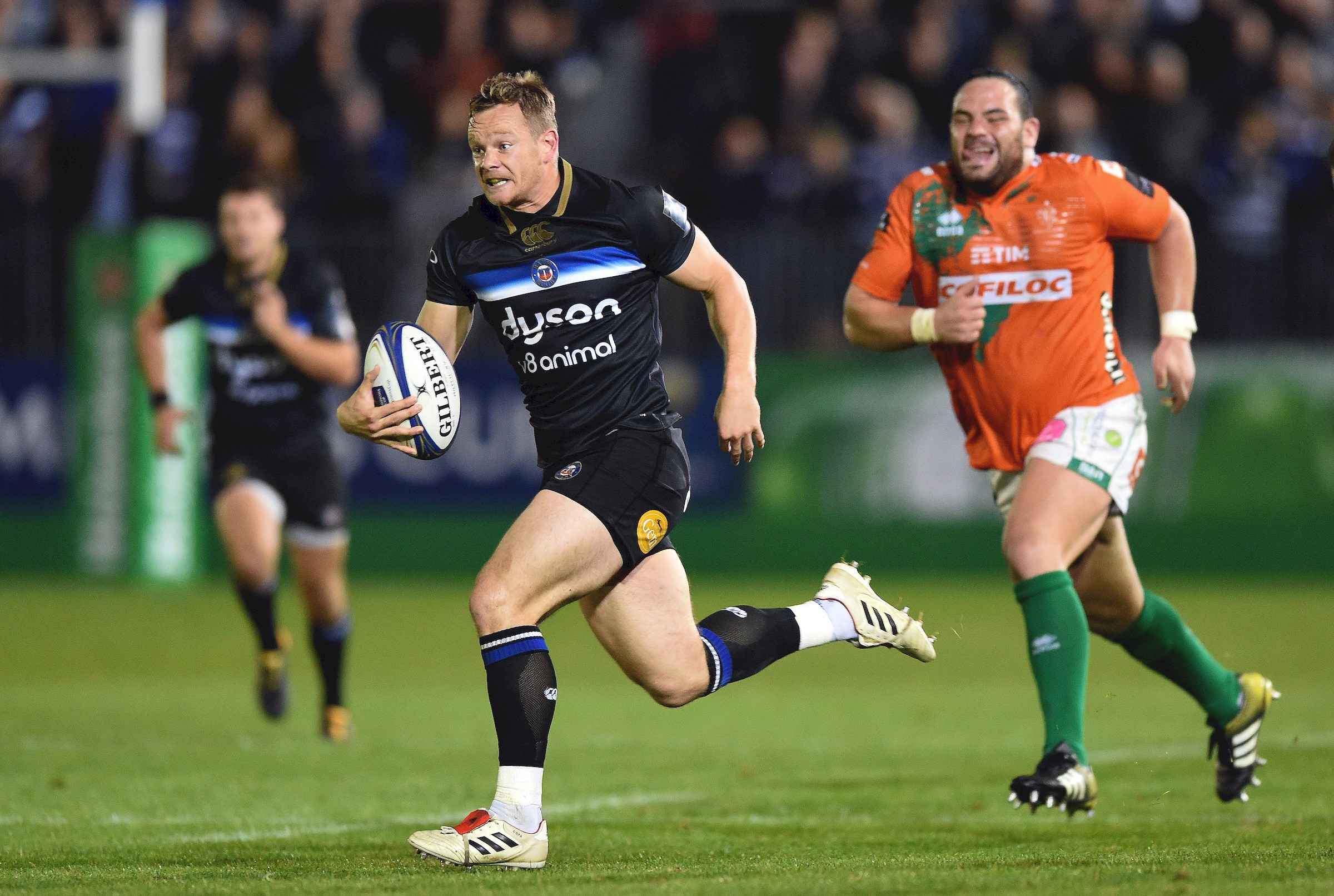 Bath Rugby's Cook to make 100th appearance against Toulon