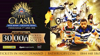 Over 30,000 tickets sold for The Clash