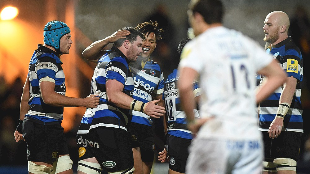Bath Rugby storm to six-try win at Sixways