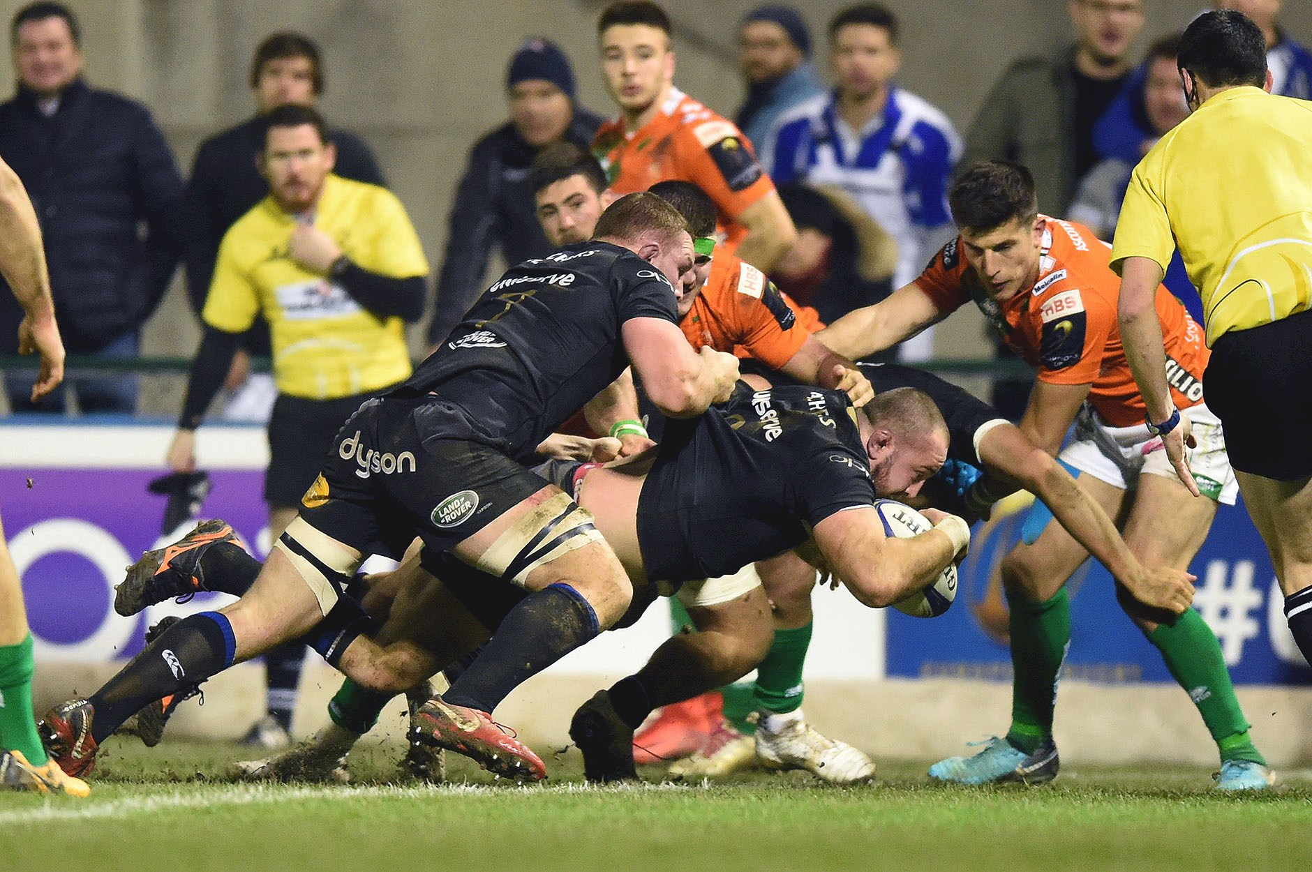 Bath Rugby end European with seven try victory over Benetton