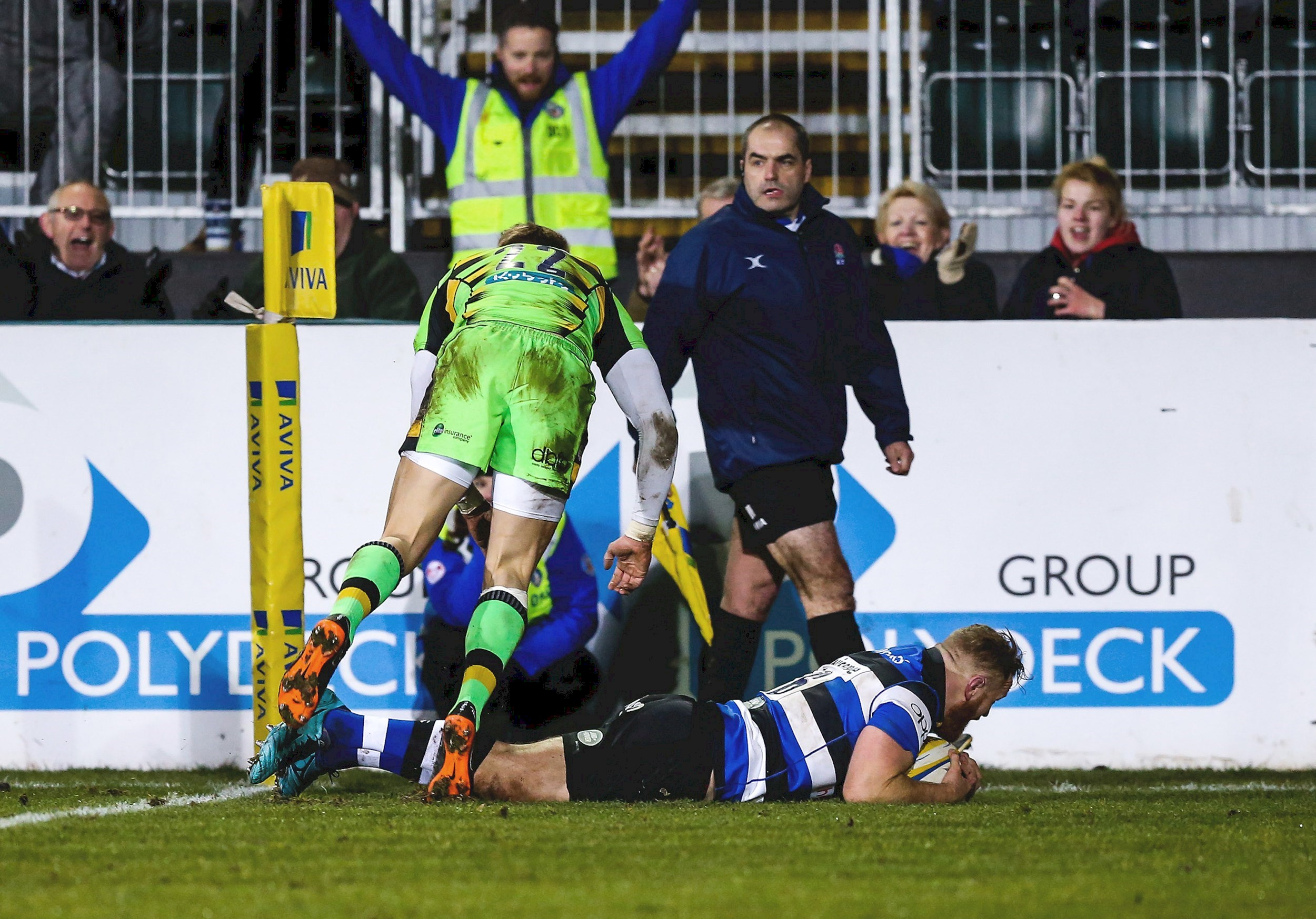 Bath Rugby topple Saints at the Rec