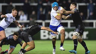 Bath Rugby swept aside by Newcastle Falcons at Kingston Park