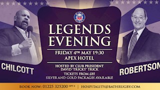 The Bath Rugby Legends' Evening is back!