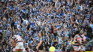 Ready to turn Twickenham blue, black and white?