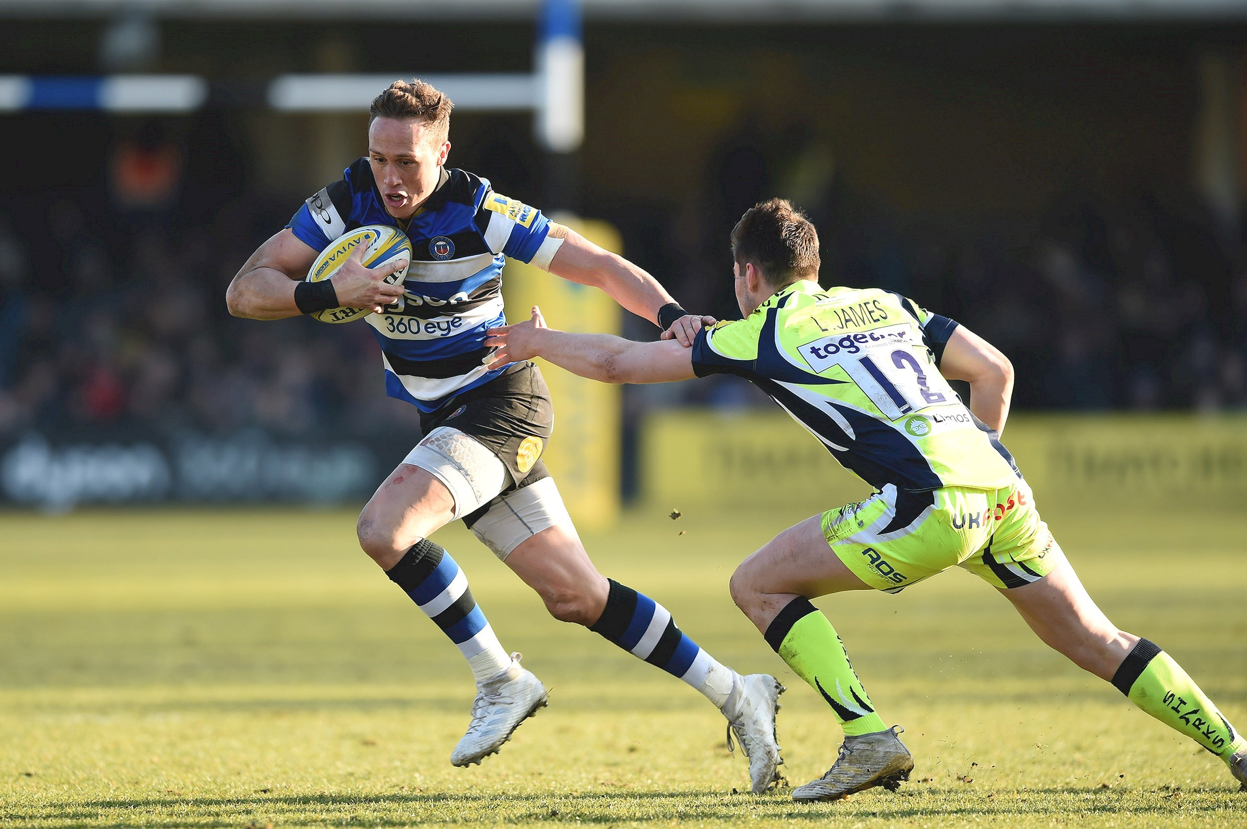 Wilson seals Bath Rugby victory with last minute winner