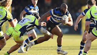 Obano to make 50th appearance for Bath Rugby against Harlequins