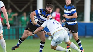 Bath United back in action on Monday at the Rec