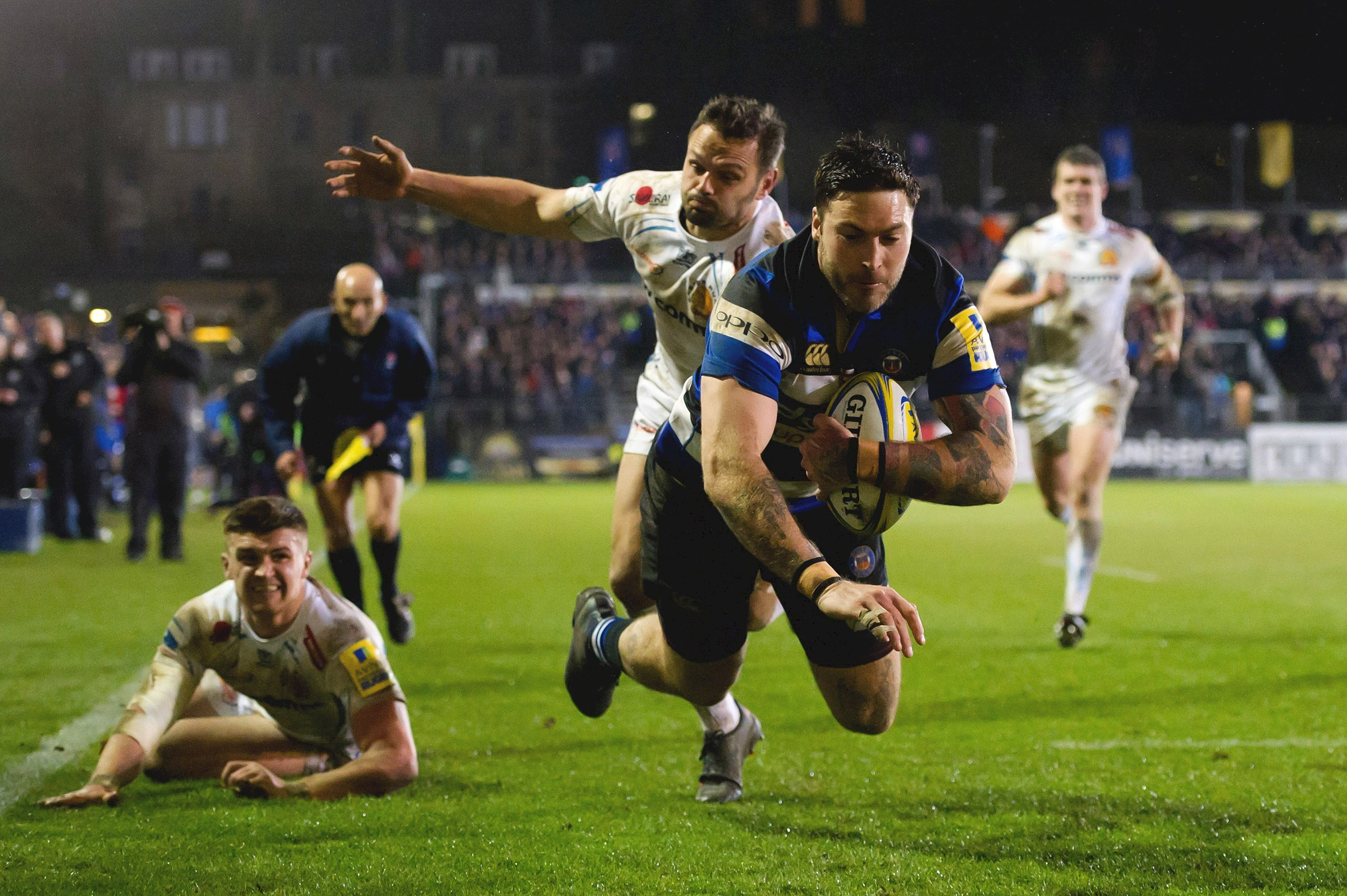 Exeter Chiefs land late penalty to secure victory over Bath Rugby