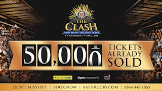 Ticket sales top 50,000 for The Clash