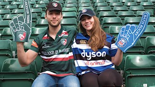 Bath Rugby launches new shirt for couples who Clash