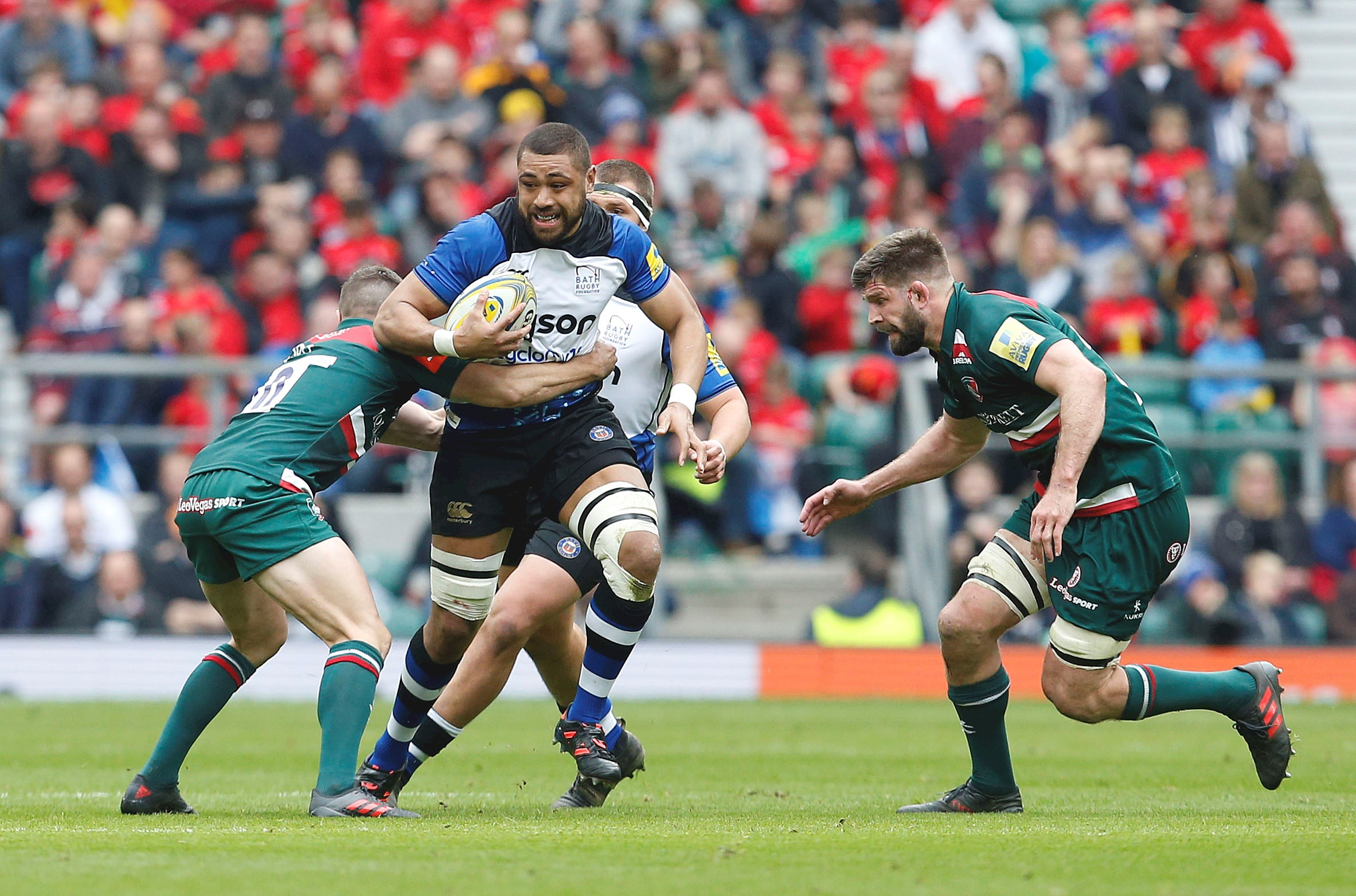 Leicester Tigers triumph over Bath Rugby at Twickenham
