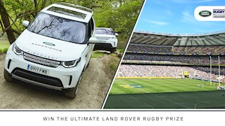 Win big with Land Rover