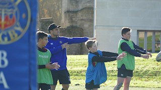 Players confirmed for Bath Rugby skills clinics