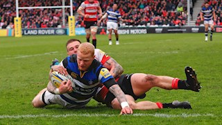 Derby delight for Bath Rugby with bonus-point victory at Gloucester