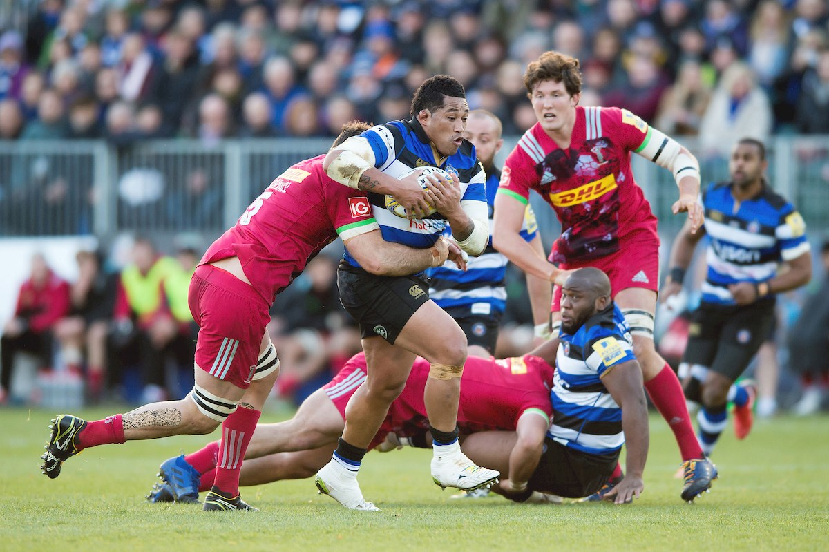Perenise to make 100th appearance for Bath Rugby against London Irish