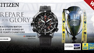 Win an Eco-Drive watch with Citizen