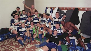 Bath Rugby's 1998 Heineken Cup victory revisited