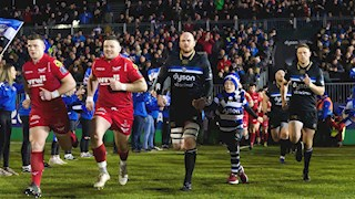 Tickets on sale for Bath Rugby v Scarlets