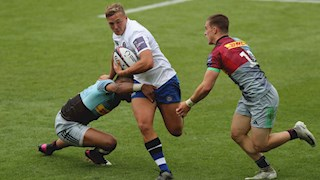 Bath Rugby suffer late defeat to Harlequins in Premiership Rugby 7s quarter-final
