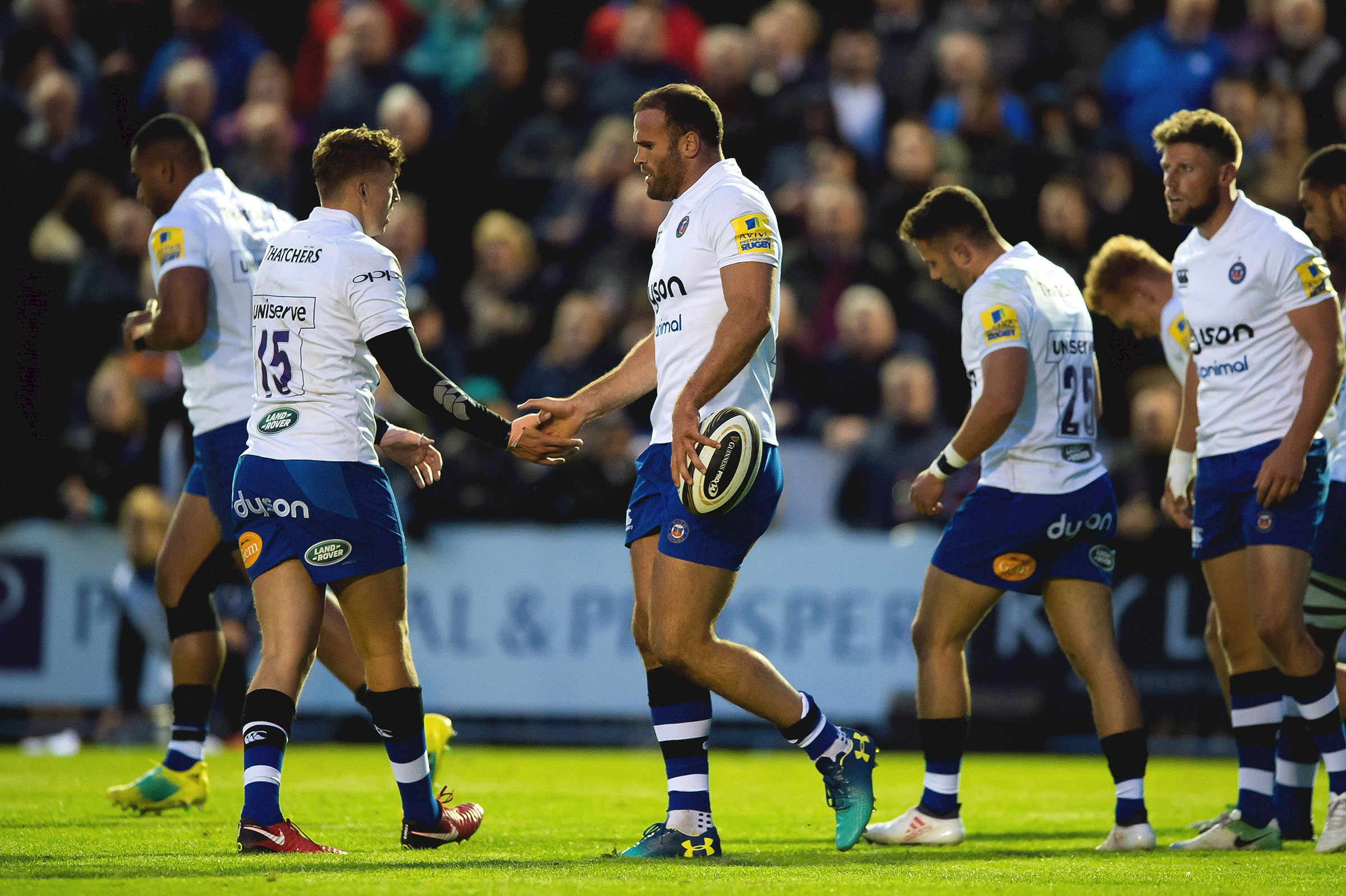 Roberts scores debut try as Bath Rugby secure victory over Edinburgh