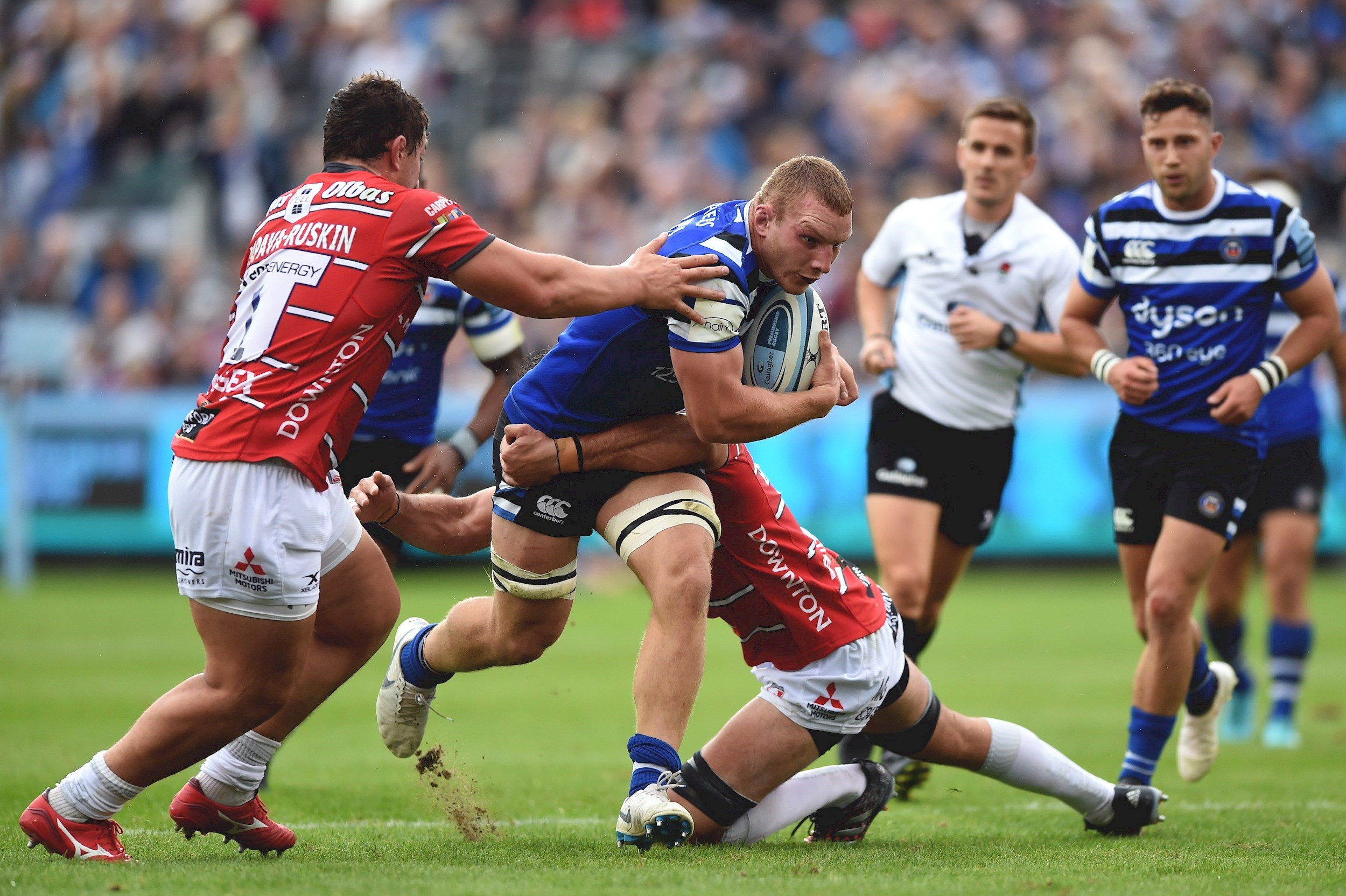 Bath fight back to claim draw with Gloucester