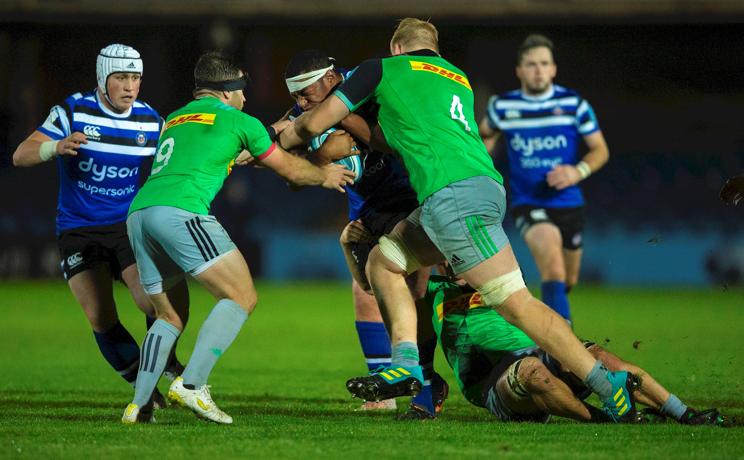 Bath United edged out by Harlequins in the Premiership Rugby Shield