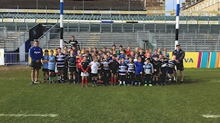 Book on the Bath Rugby half-term camps this month