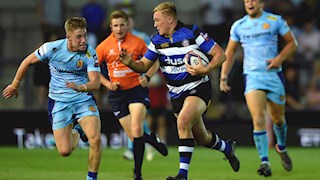 Five Academy players start for University of Bath tonight