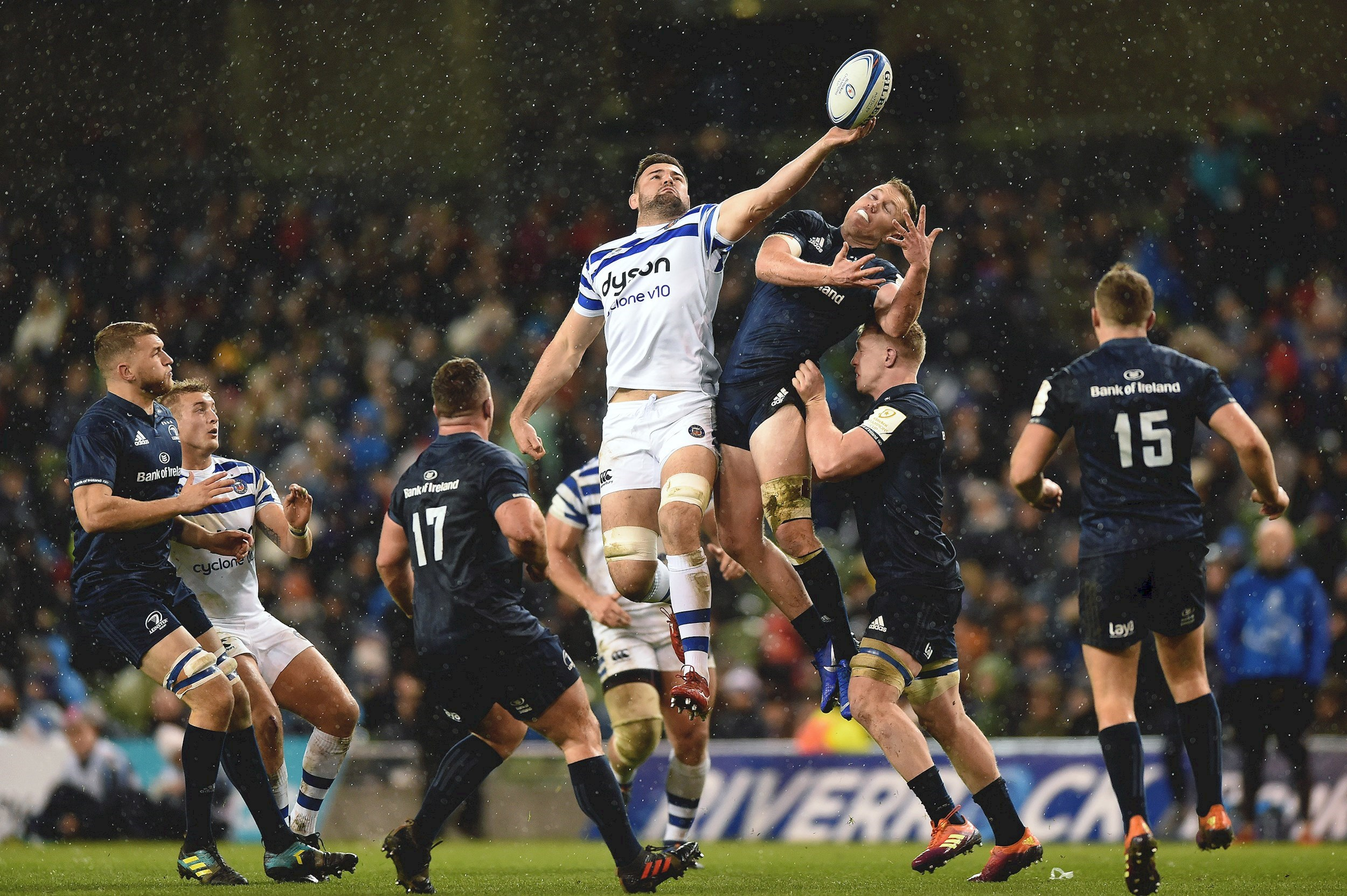 Leinster show clinical edge in victory against Bath Rugby