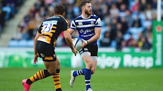 Wright reflects on a 'massive' two weeks for Bath Rugby