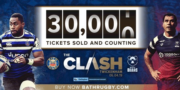 Ticket sales exceed 30,000 for The Clash