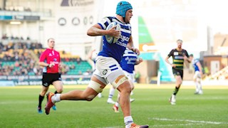 Northampton snatch last minute victory over Bath Rugby