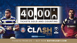 Over 40,000 tickets sold for The Clash