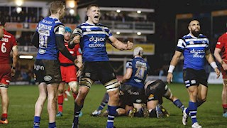 Bath Rugby take the scalp of Premiership Champions at the Rec