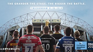 Be Part of the Gallagher Premiership Final