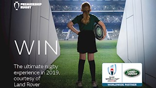 Win the ultimate rugby experience with Land Rover