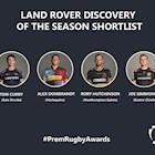 Premiership Rugby announce Land Rover Discovery of the Season shortlist
