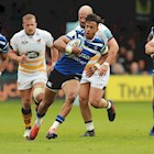 Anthony Watson to make 100th appearance for Bath Rugby against Leicester Tigers