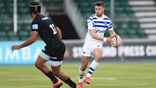 de Glanville at fly-half for England U20s against Italy