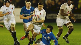 England claim victory in second outing at U20s Championship