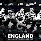 Seven selected for England Training Camps