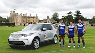 Land Rover extends Bath Rugby partnership