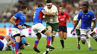 Louw at number eight for the Springboks