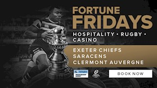 Join us with our Fortune Fridays Hospitality packages