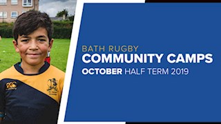 Join Bath Rugby in October Half Term Camps