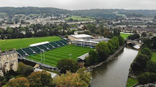 Match day at the Rec - Northampton Saints